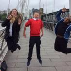 Mackenzie Hampson, Frankie Johnson and Cameron Chew celebrate their WOW Zone film success!